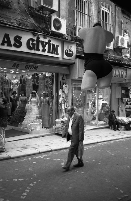 Eugene Safian. Manequin cities. Turkey, Istanbul, Grand Bazaar, 2008